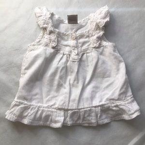 5/$25 OLD NAVY ruffle sleeve peplum blouse